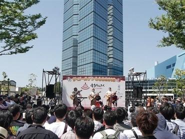 博多三大祭りの様子