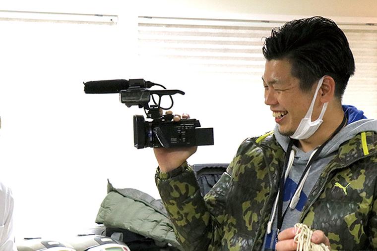 プロの撮影現場を体験