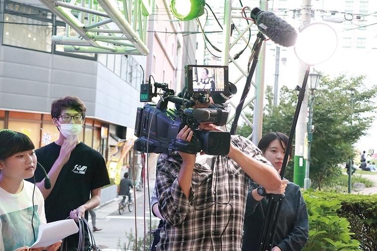 テレビ現場研修